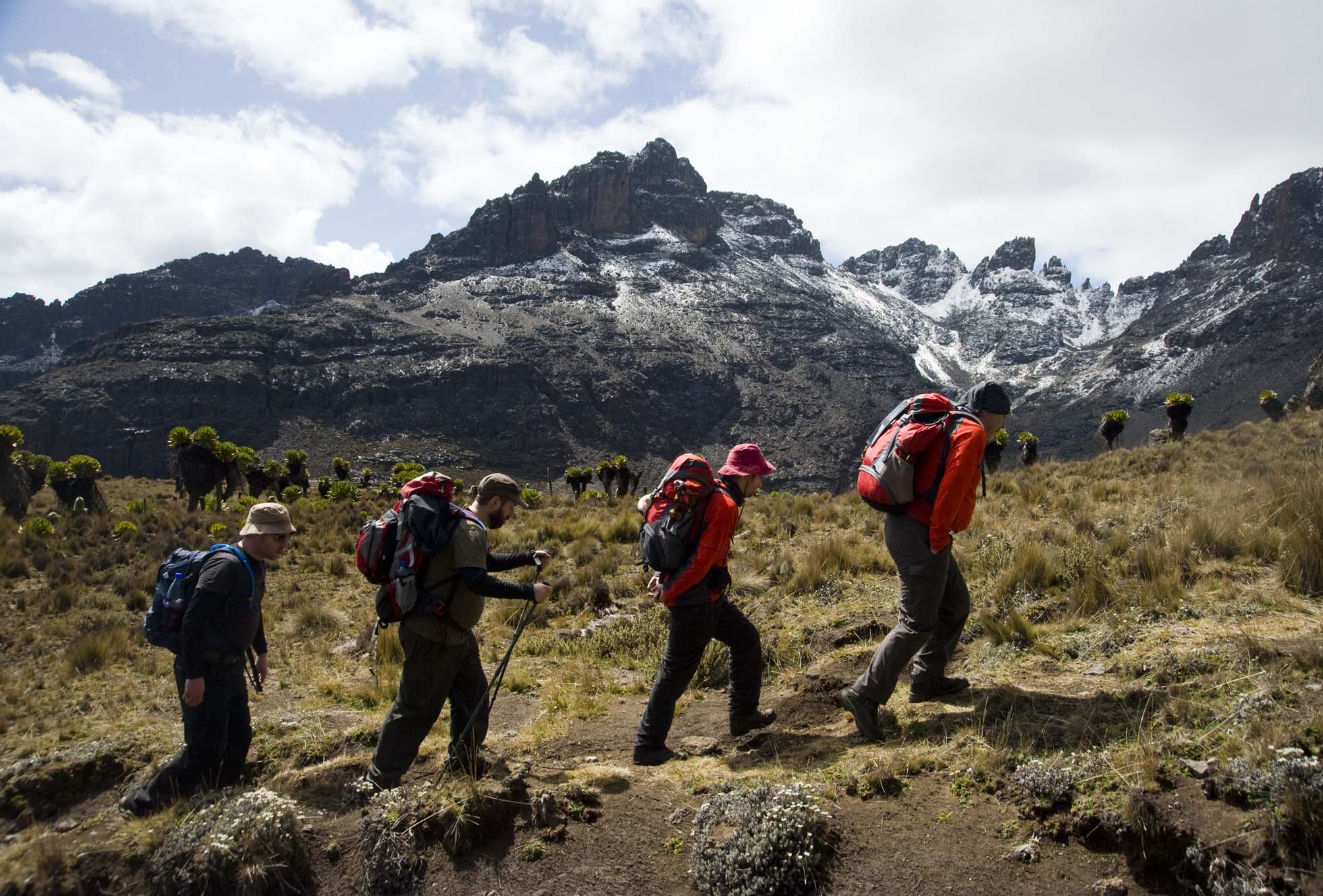 Africa mountain climbing and cycling festivals