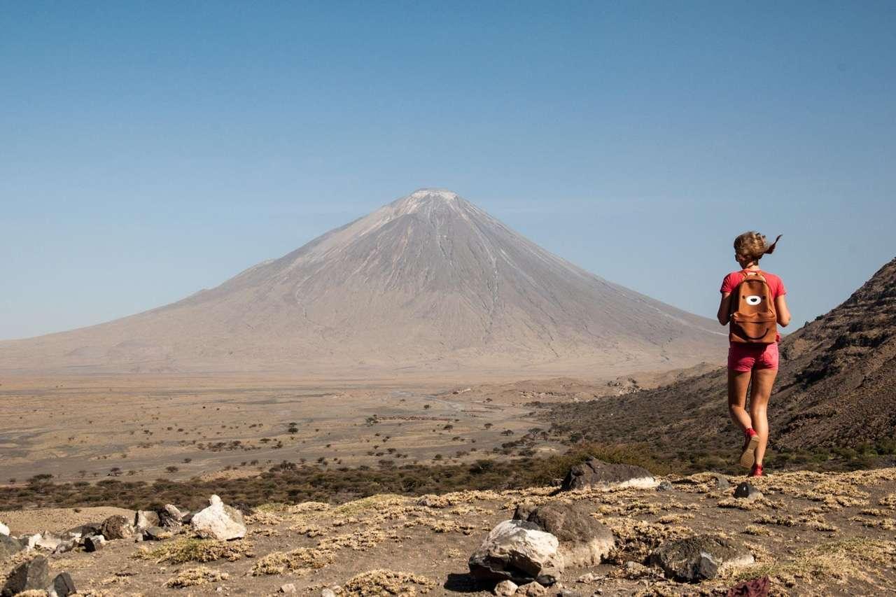 Africa mountan climbing